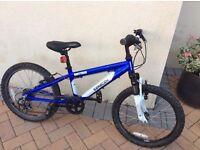 Boys Saracen Rufftrax 20w Kids Bike - immaculate rip £250 6 gears