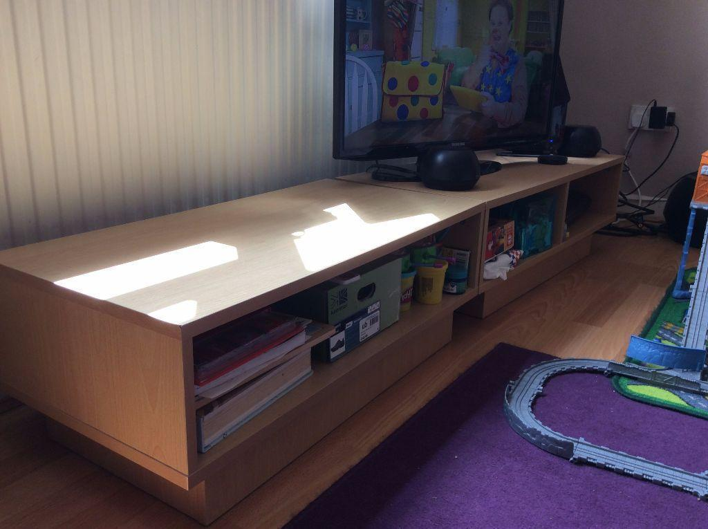 Matching Set Of Coffee Table And Tv Stand Modern With Plenty Of Storage Room United Kingdom