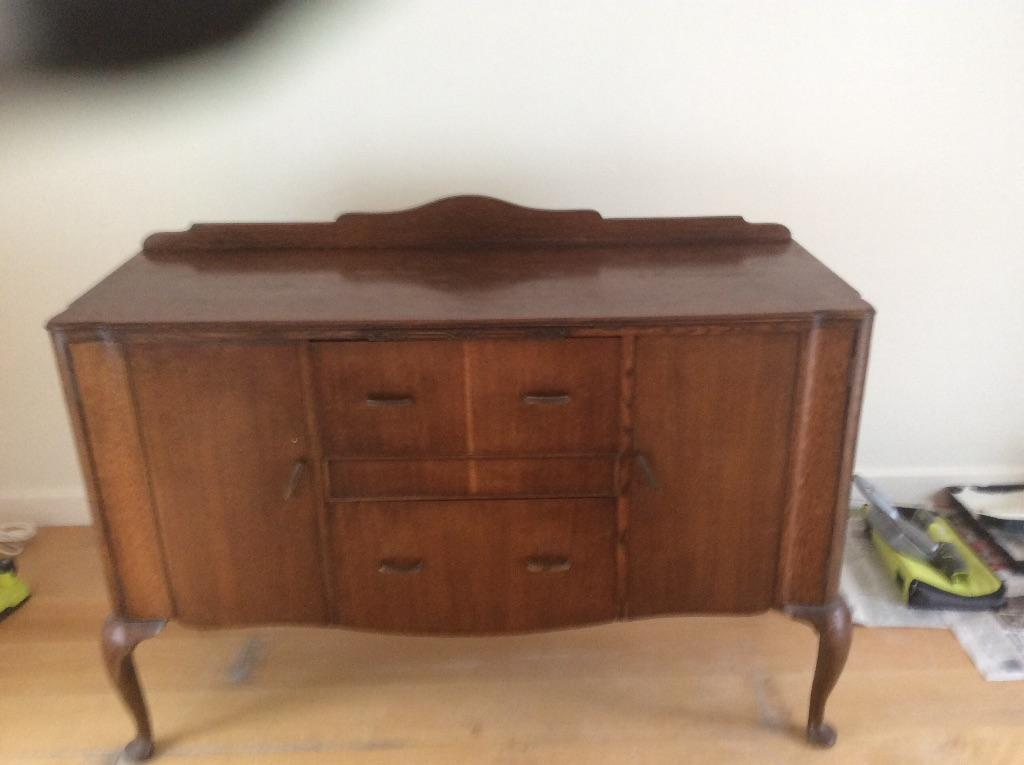 period dining room table 6 chairs and sideboard also beautiful
