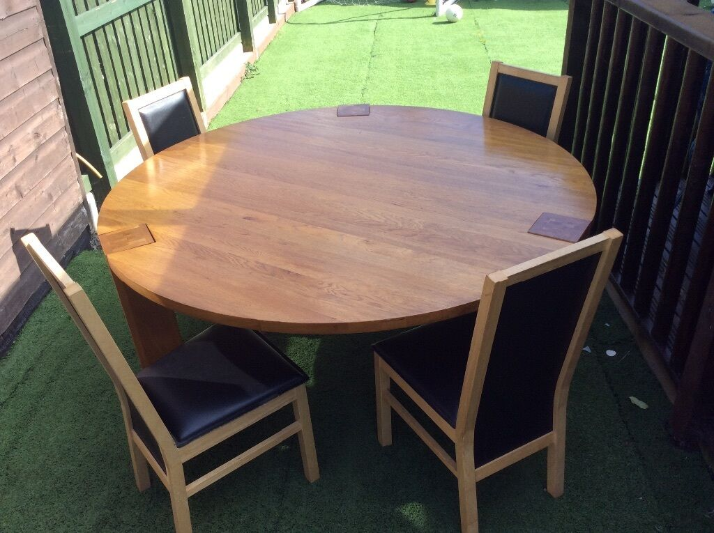 Solid Wood Dining Table And Chairs United Kingdom Gumtree