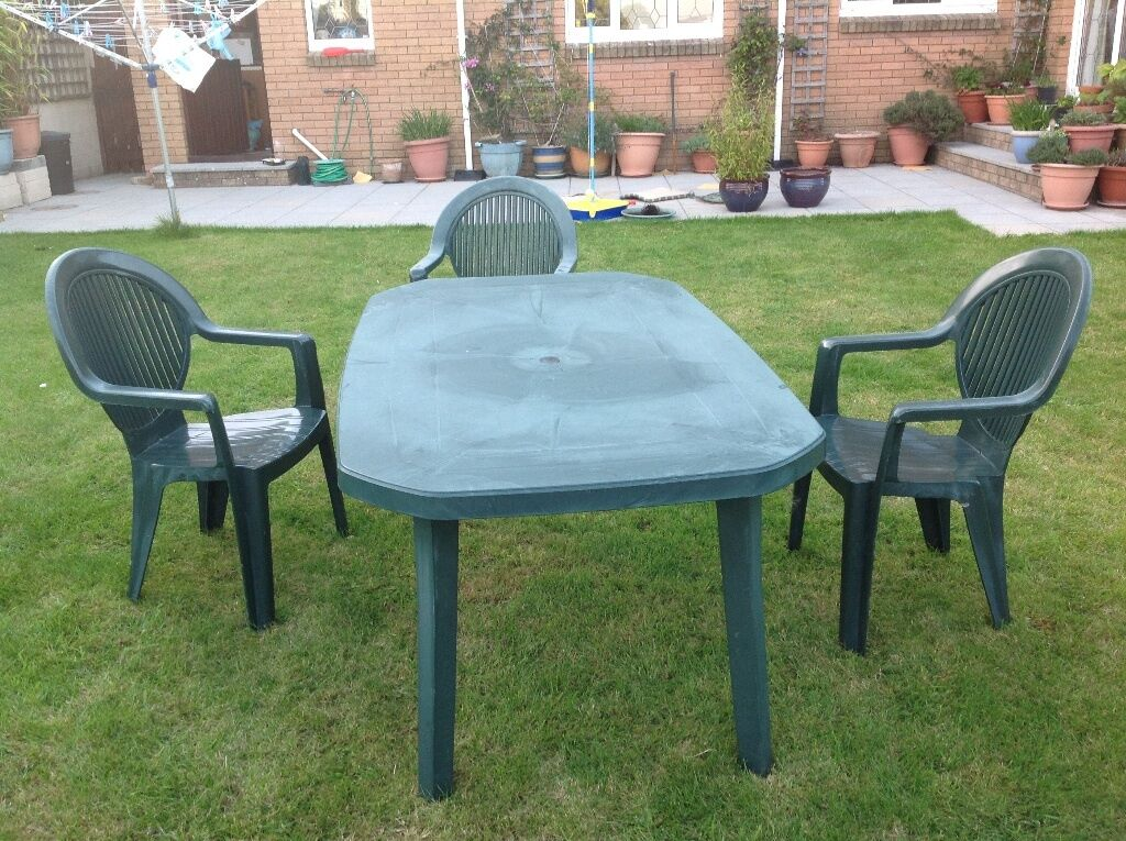 Green Plastic Garden Table Buy Sale And Trade Ads