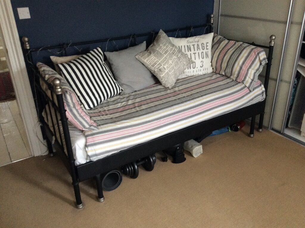 Ikea black day bed united kingdom gumtree - Black days ikea ...