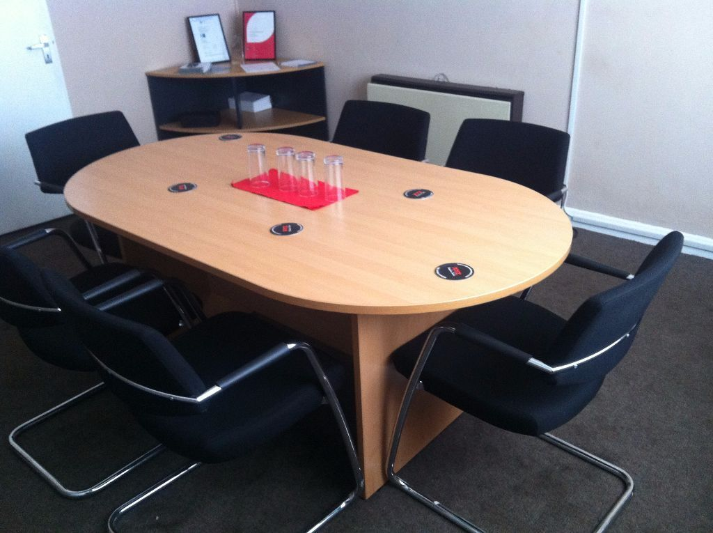 meeting conference table and 6 chairs united kingdom