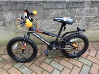 """Great condition second hand Apollo Starfighter Boys Bike 12"""" wheels for 4-7 year old"""