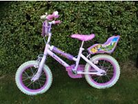 "Disney princess 14"" girls bike"
