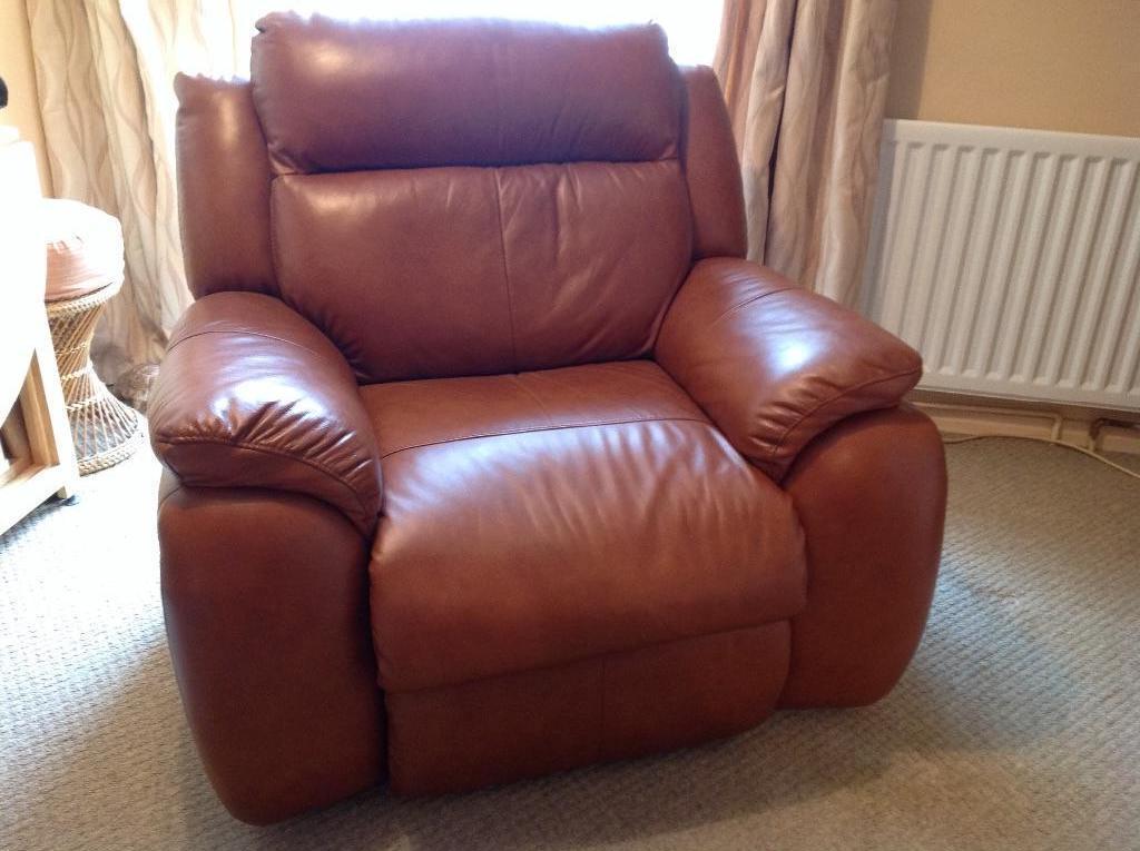 leather recliner armchair light brown united kingdom. Black Bedroom Furniture Sets. Home Design Ideas