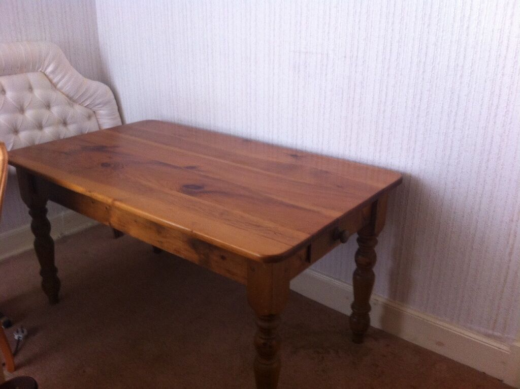 solid pine table 6 chairs united kingdom gumtree