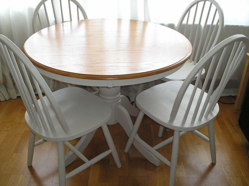 breakfast table and 4 chairs united kingdom gumtree