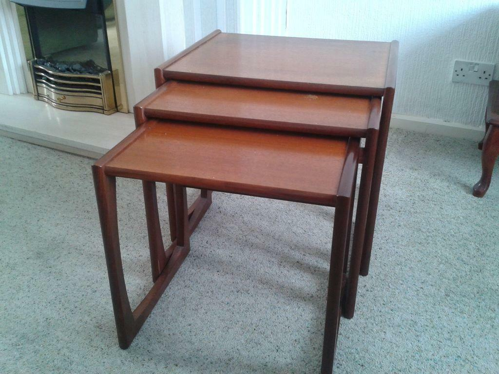 G plan 1960 39 s nest of coffee tables united kingdom gumtree for Coffee tables gumtree