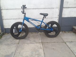 Blue Silverfox BMX bike