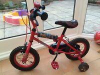"Childs 14"" Lightning McQueen Bike"