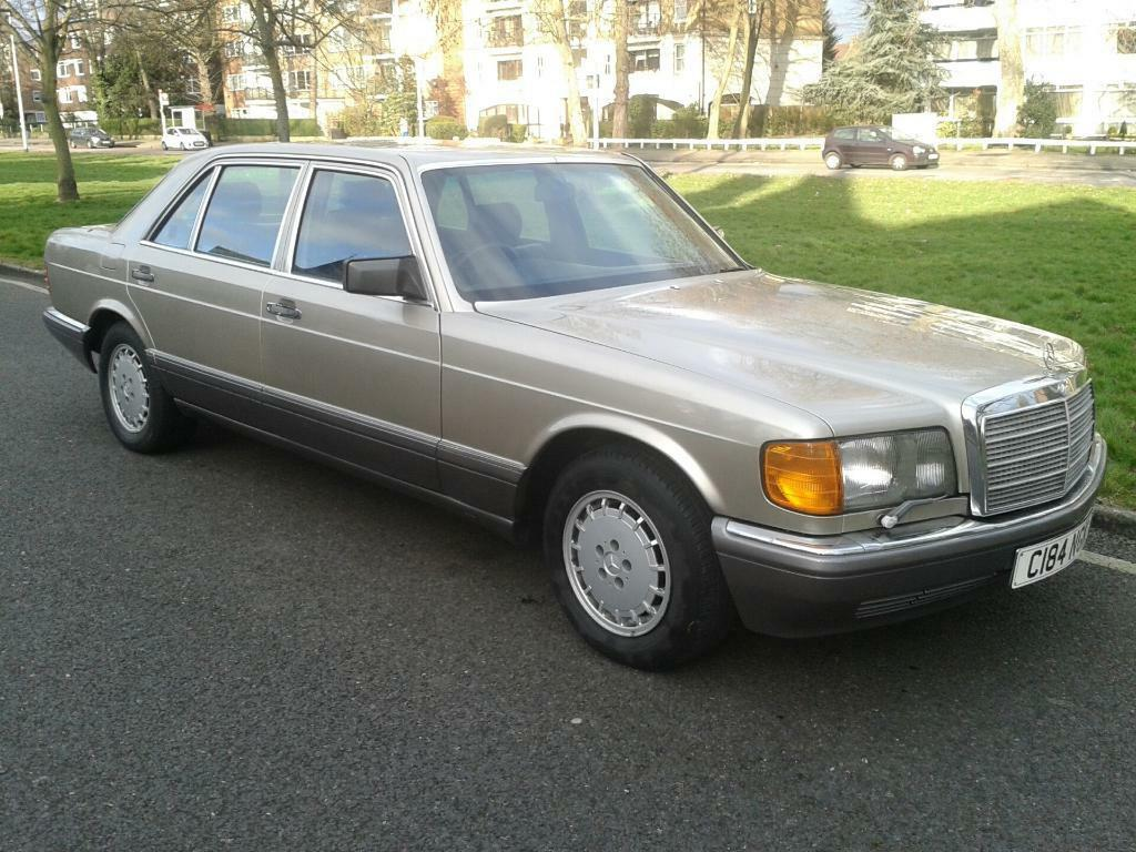 Mercedes 500sel w126 1985 facelift classic sec united for 1985 mercedes benz 500sel