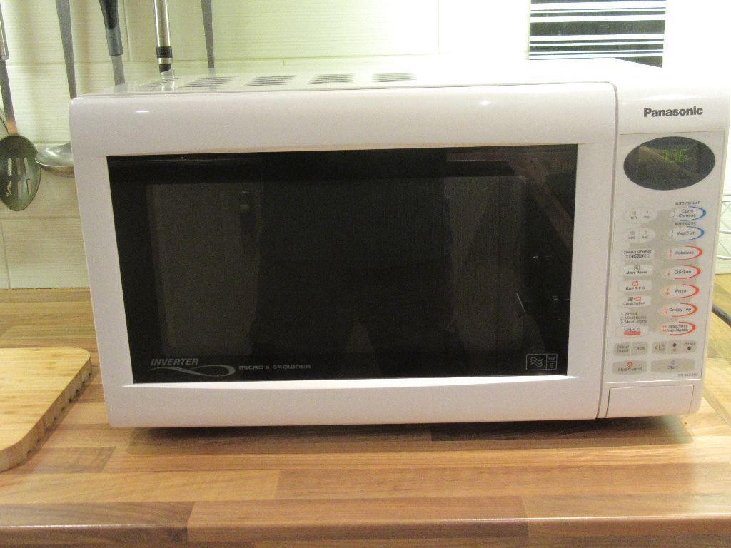 panasonic 1300 watt inverter microwave manual