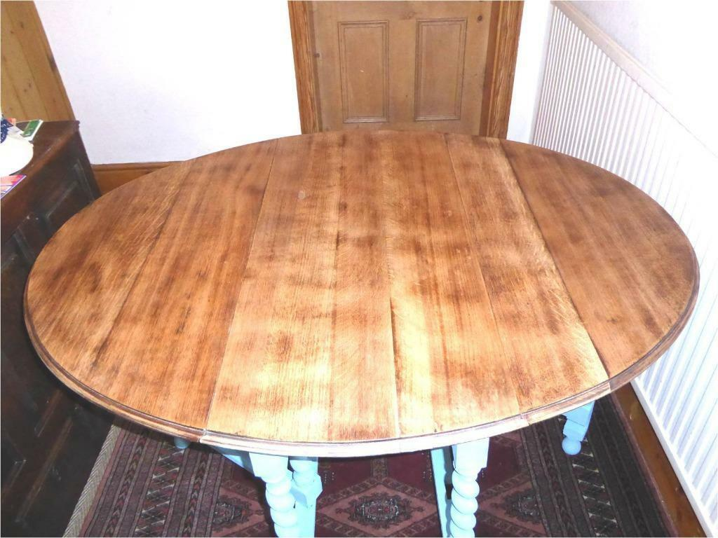"""Medium To Large"""" Sized Gateleg Dropleaf Table Made Of Solid Oak . Full resolution  photo, nominally Width 1024 Height 768 pixels, photo with #BC600F."""