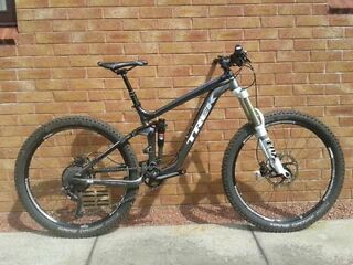 Trek Slash 8 650b 2014 FOX suspension, Schwalbe, Shimano XT, Raceface, Troylee, Rockshox Reverb