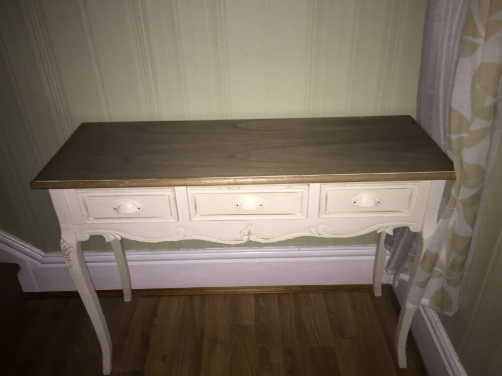 Cream console table Buy sale and trade ads great prices : 86 from dealry.co.uk size 1024 x 768 jpeg 58kB