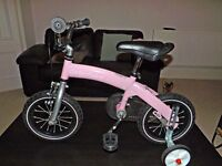 Kids Balance Bike - With pedal pack fitted
