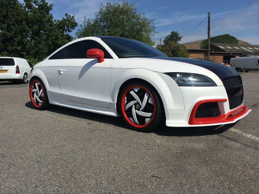2010 Audi Tt 2 0 Tdi Quattro S Line Custom Build Lambo Body Kit Alloys Leather Ecu Re