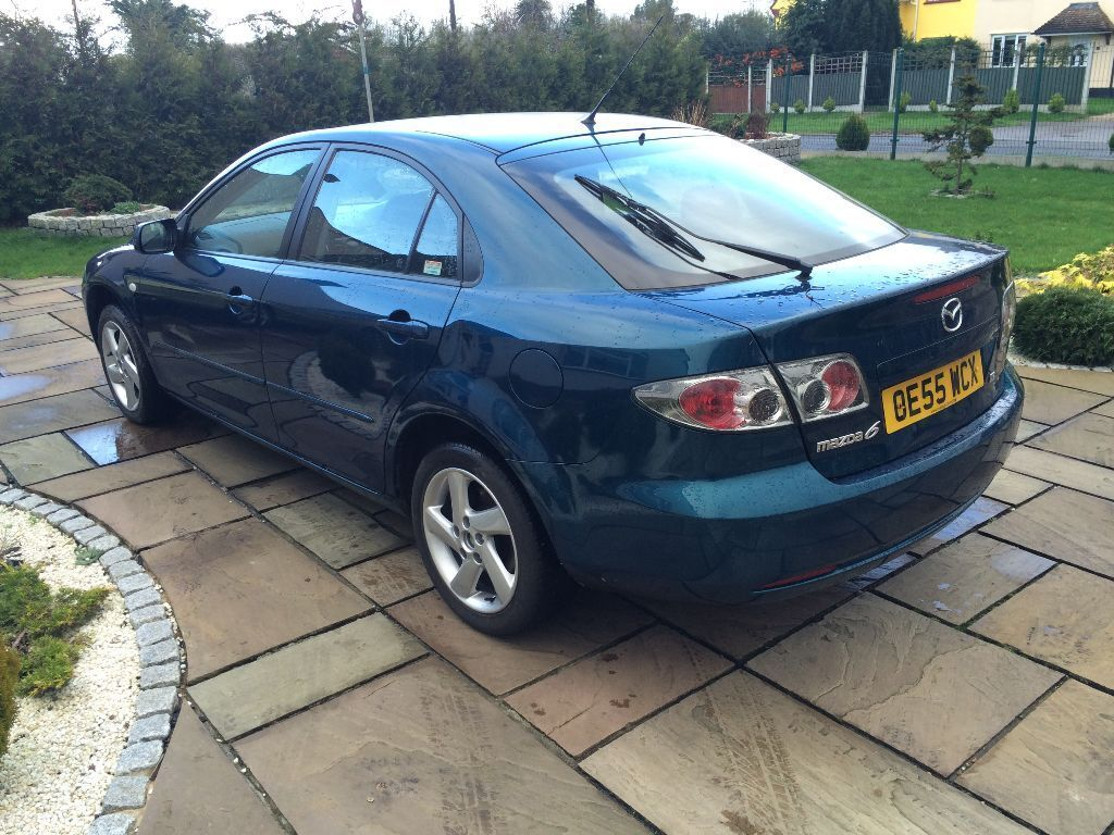 2006 mazda 6 ts d 143 blue manual 6 speed low mileage. Black Bedroom Furniture Sets. Home Design Ideas