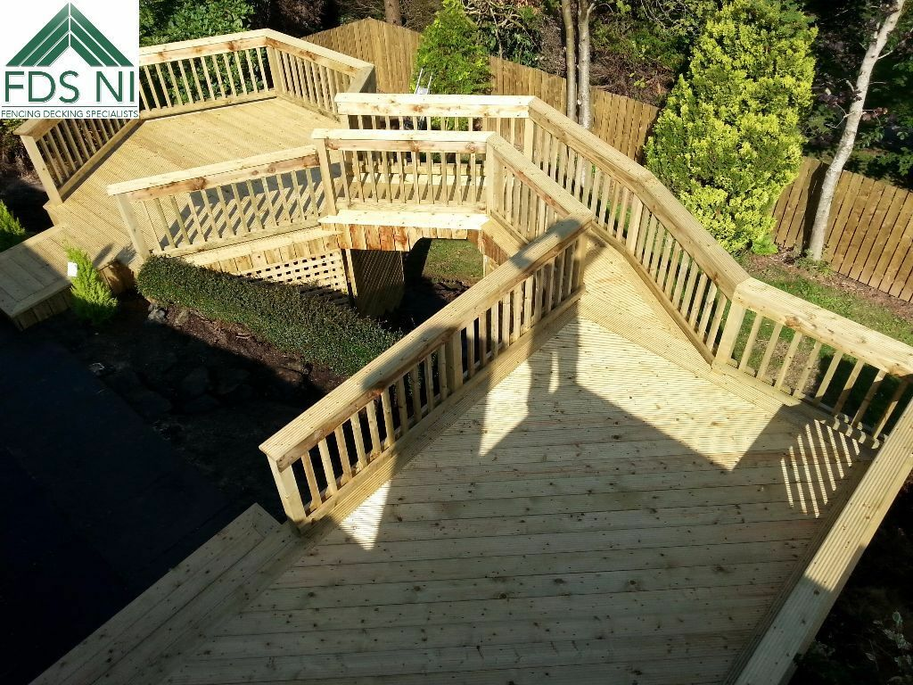Saintfield for Garden decking and fencing