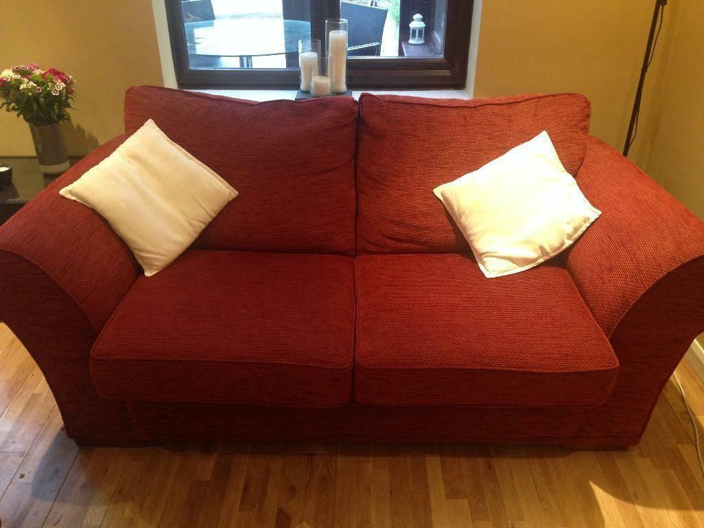Large two seater very comfortable sofa bed united for Sofa bed very