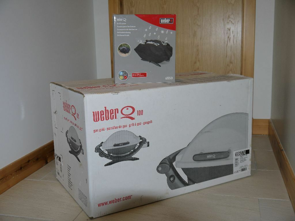 weber baby q q 100 portable gas grill united kingdom. Black Bedroom Furniture Sets. Home Design Ideas