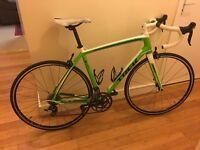 Trek 2.3 Madone Alu Cabron Road Bike. Similar to specialized allez