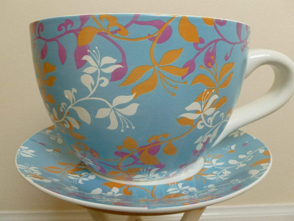 Giant Cup And Saucer Planter United Kingdom Gumtree