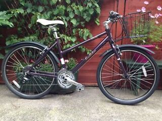 Ladies PENDLETON Bicycle, with mudguards and basket. Only used twice. £180.00