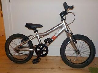 Kids Bike Ridgeback MX16 Silver (Age 4+)