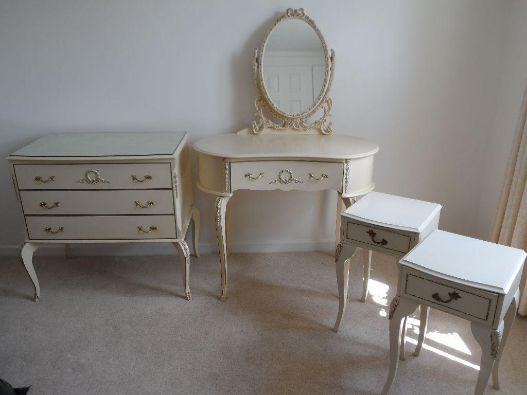 vintage shabby chic louis style bedroom furniture united kingdom gumtree