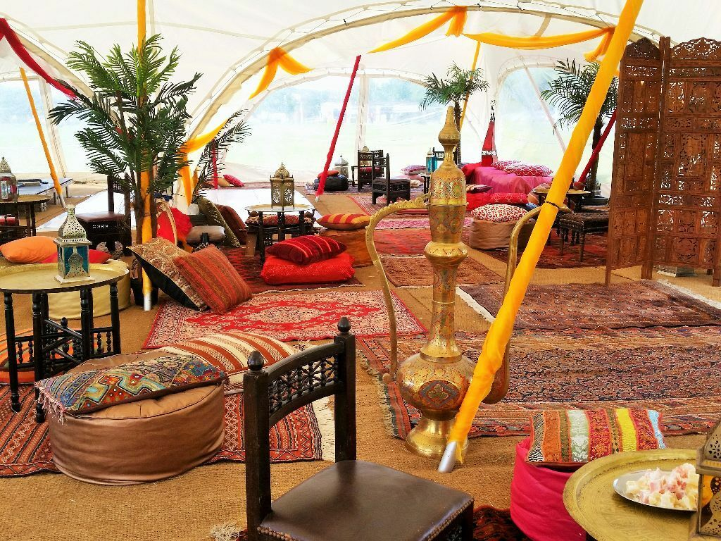 Henna Party Rentals : Moroccan arabian themed party chill out package prop hire