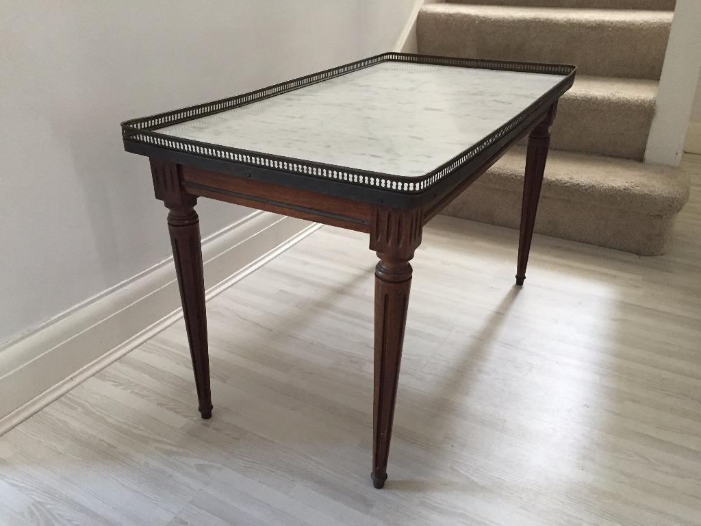 Beautiful Marble Coffee Table 19th Century French Antique United Kingdom