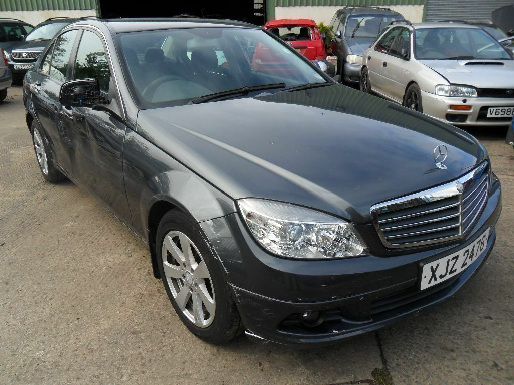 mercedes c180 se kompressor 2008 damage repairable united kingdom gumtree. Black Bedroom Furniture Sets. Home Design Ideas