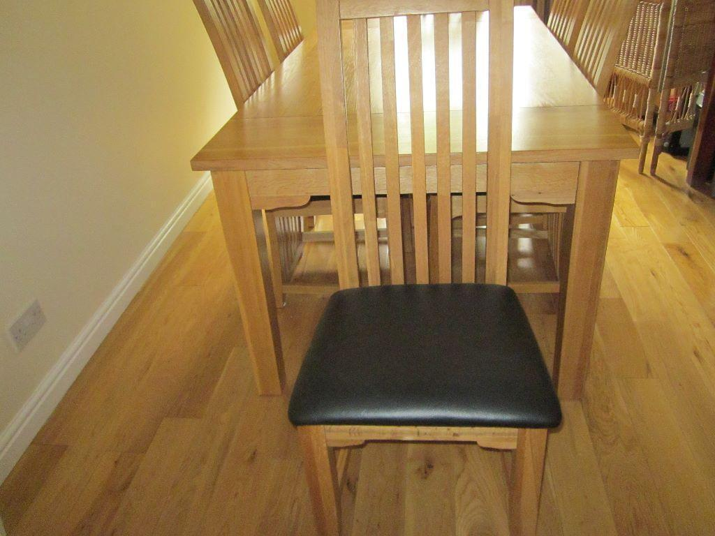 dining room table and 6 chairs united kingdom gumtree