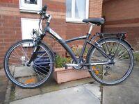 Ladies Btwin town bike.