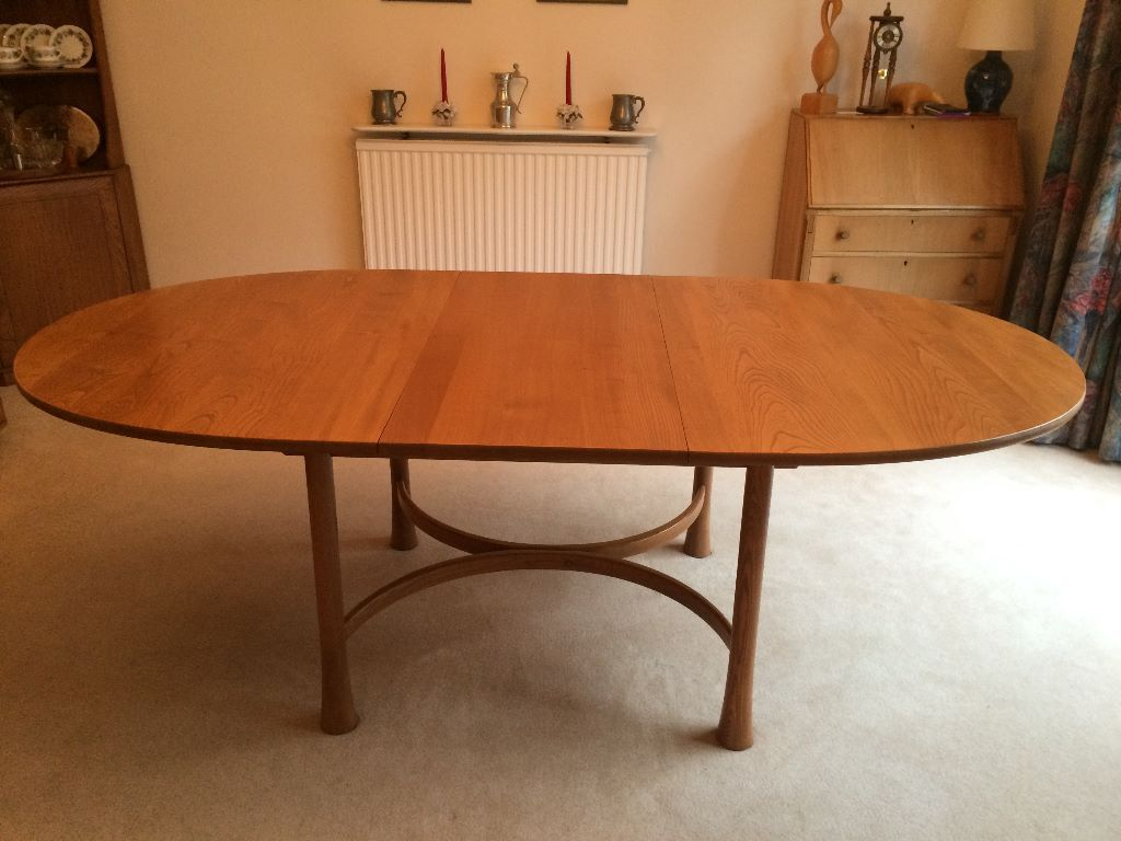 ERCOL SAVILLE EXTENDING DINING TABLE TO SIT UP TO 8 United Kingdom Gumtree
