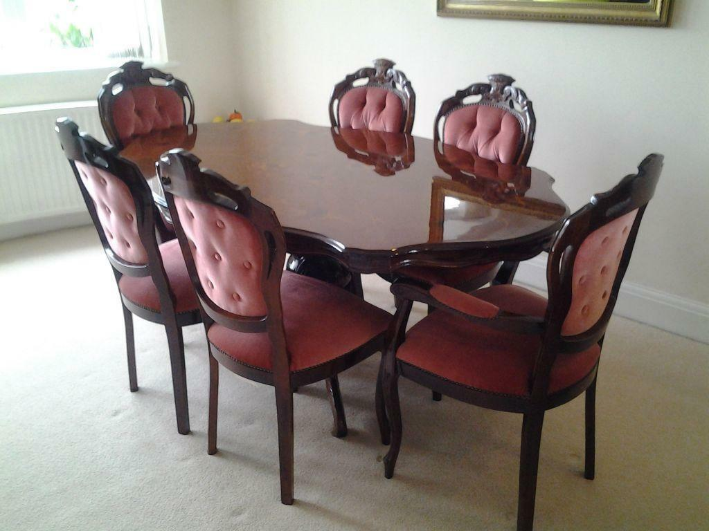 for sale dining table and chairs and wall unit
