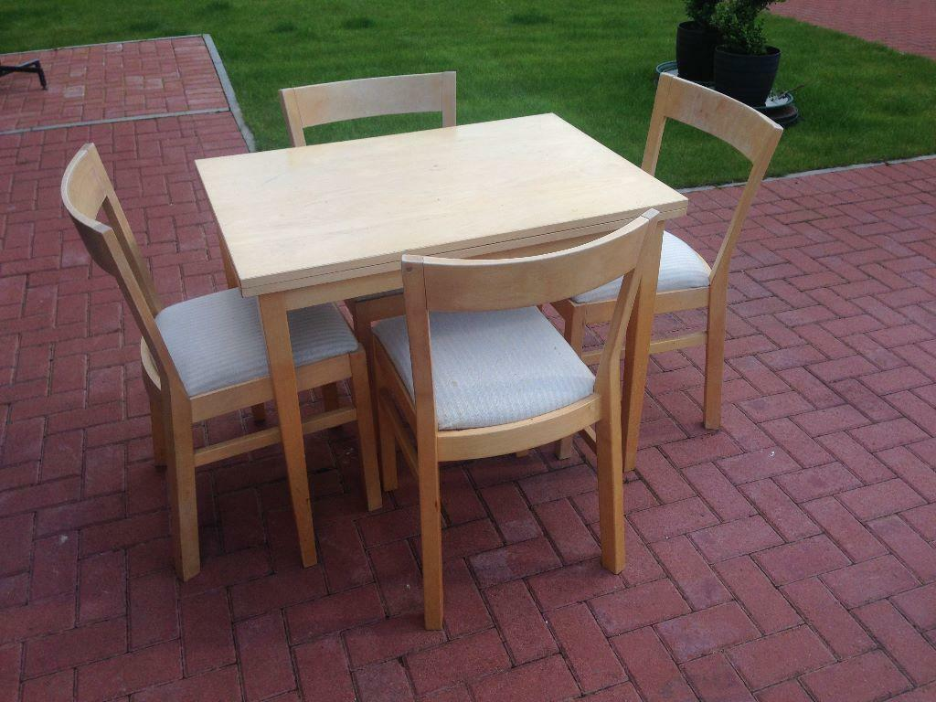 birch extendable dining table and chairs united kingdom