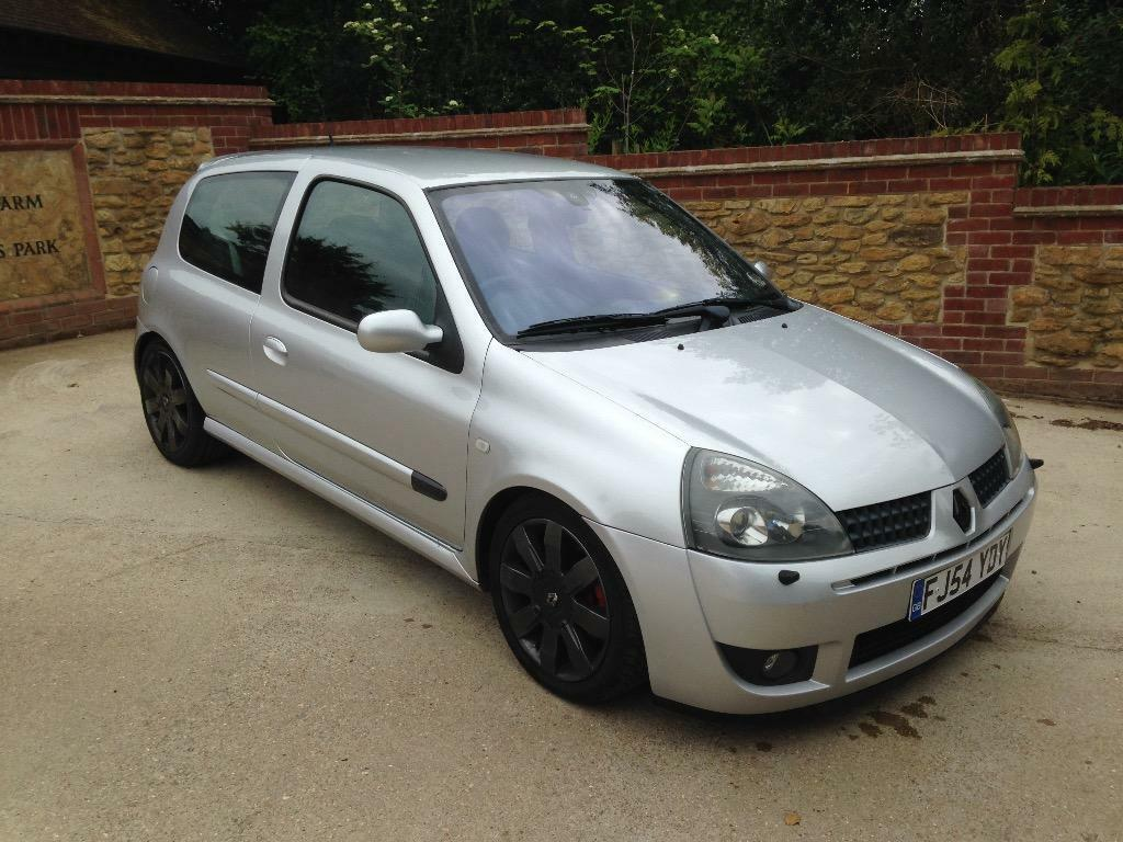 2004 54 clio 182 sport silver milltek exhaust united kingdom gumtree. Black Bedroom Furniture Sets. Home Design Ideas