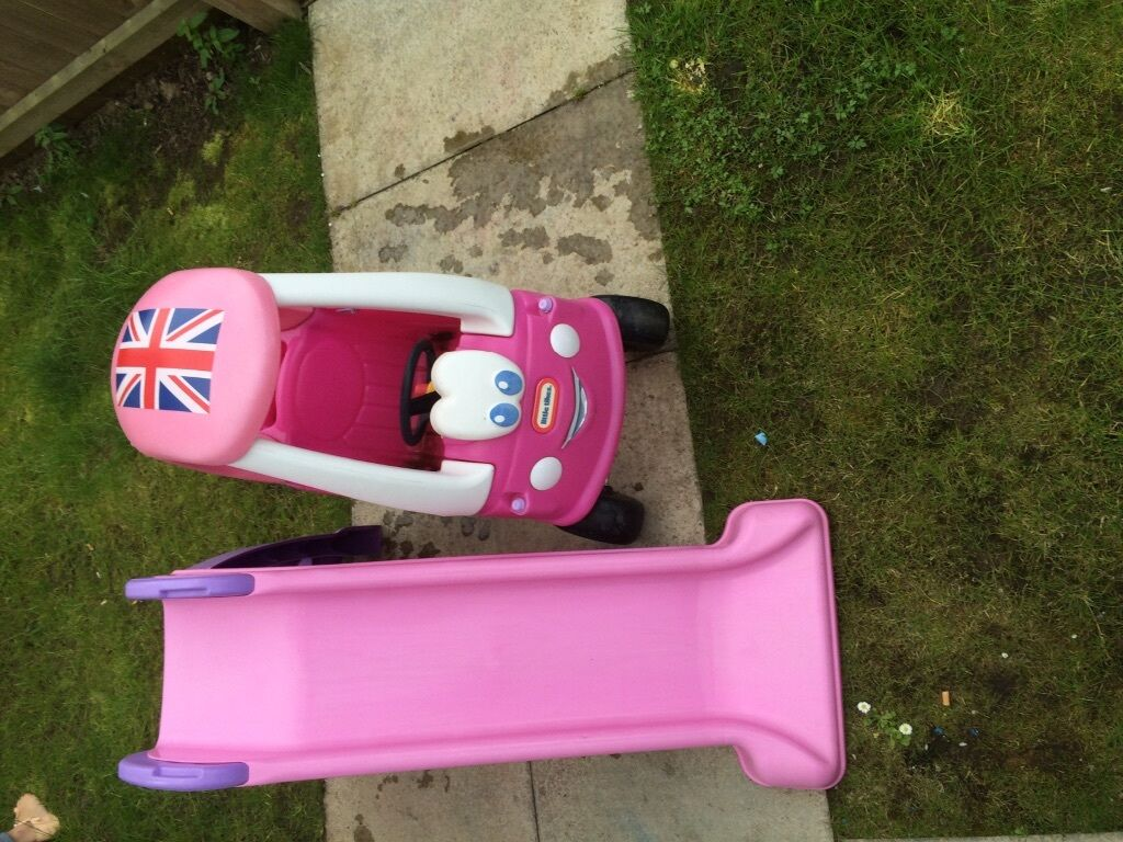 Chute And Car Little Tikes