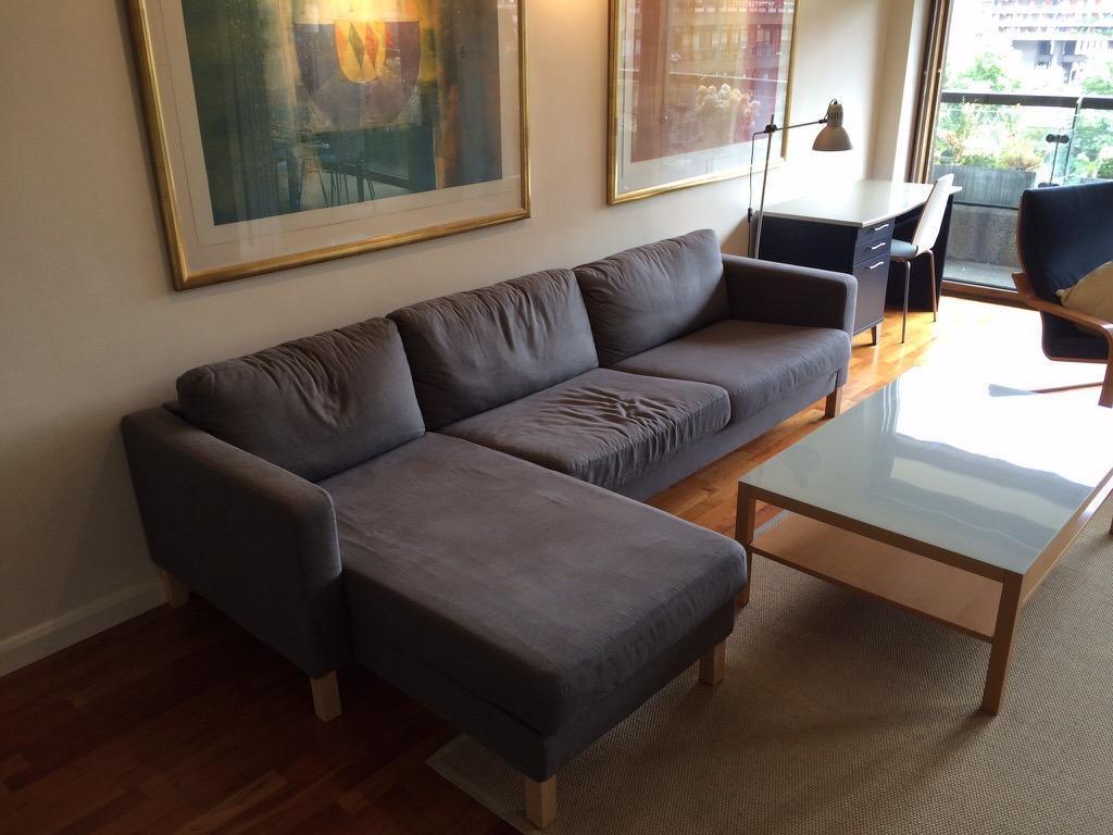 Ikea Karlstad Three Seat Sofa And Chaise Lounge United Kingdom Gumtree