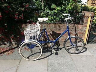 Pashley Tricycle Adult, 3 gears, FULLY SERVICED ready to ride