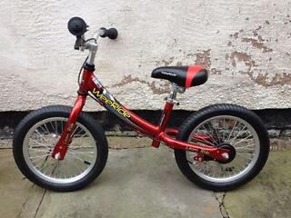 Brand New - Wee Ride Luxury Balance Bike - 3-5 year olds - rear brake - lightweight frame