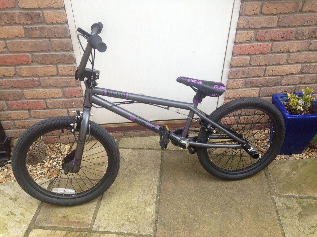 Bmx Purple And Black Black Voodoo Bmx Bicycle