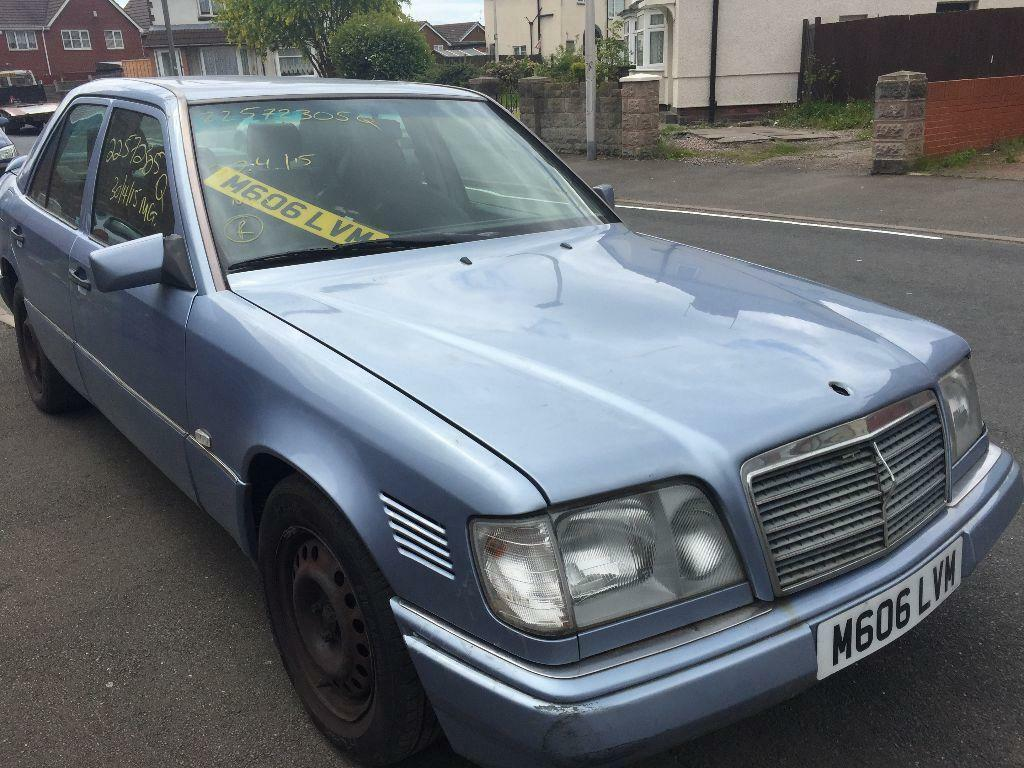 E250 mercedes benz w124 diesel automatic breaking all for Mercedes benz w124 parts