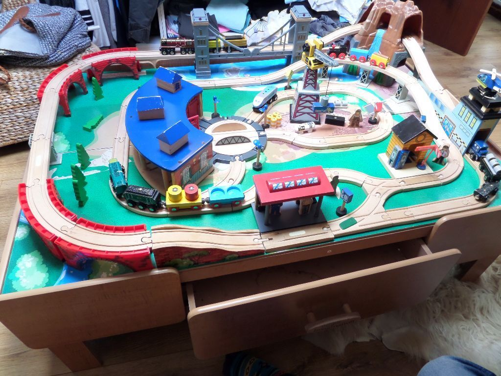 universe of imagination train table instructions