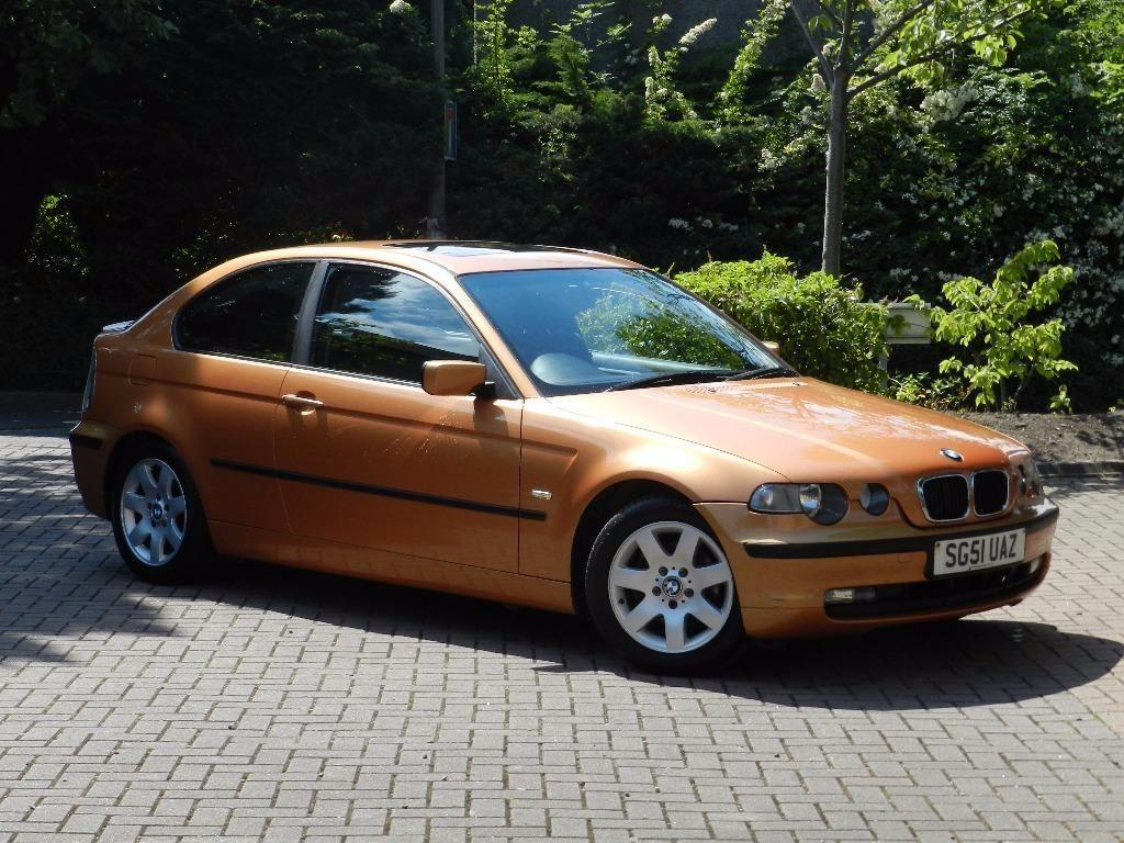 fantastic car 2002 bmw 316 ti compact alloys service history warranty united kingdom. Black Bedroom Furniture Sets. Home Design Ideas