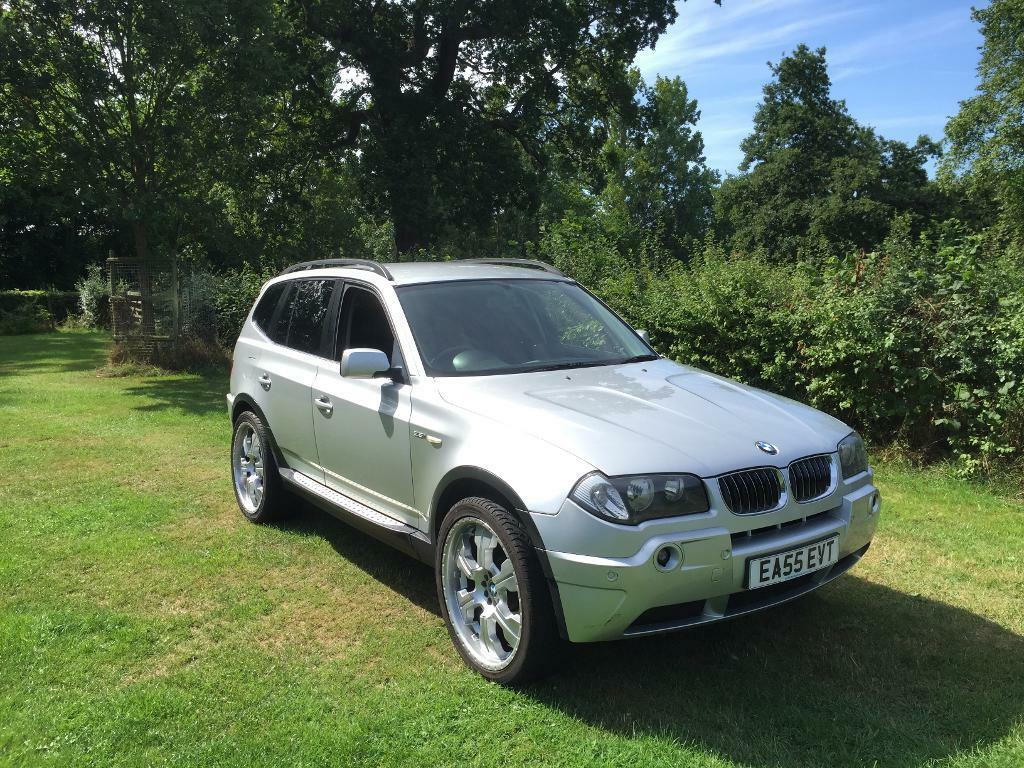 2006 bmw x3 2 5 sport touch screen sat nav 20 inch alloy wheels auto fully loaded px 4 250 private seller