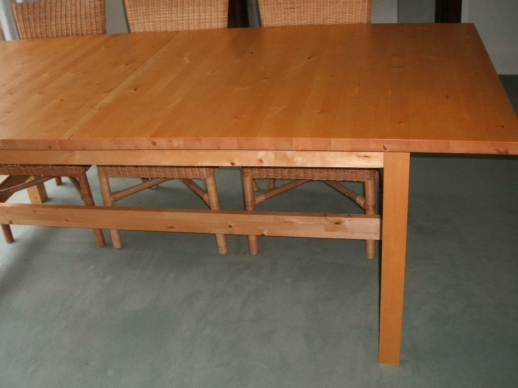 Ikea Norden Extendable Table Seats Up To 10 People Solid